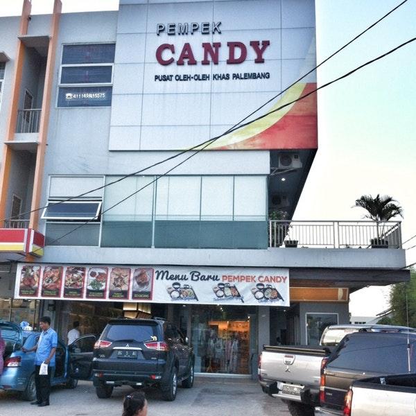 Pempek Vico Candy Toko Populer Palembang Biasanya Menjadi Oleh Wajib
