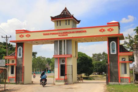 Contoh Makalah Tempat Wisata Palembang Peninggalan Kerajaan Sriwijaya Taman Terletak