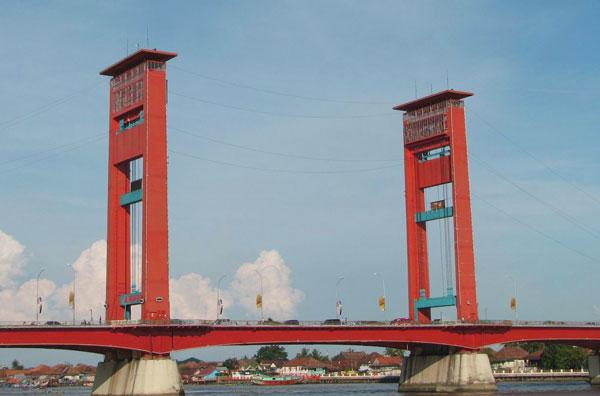 Kota Palembang Saksi Sejarah Kejayaan Kerajaan Sriwijaya Sumatra Jembatan Ampera