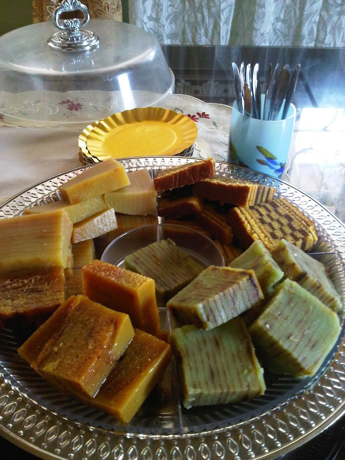 Kue Maksuba Salah Satu Makanan Khas Kota Palembang Indonesia Dibuat