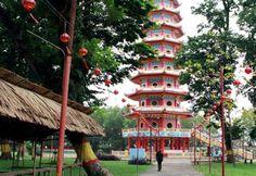 Pantai Tanjung Setia Tempat Wisata Pinterest Pulau Kemaro Palembang 3