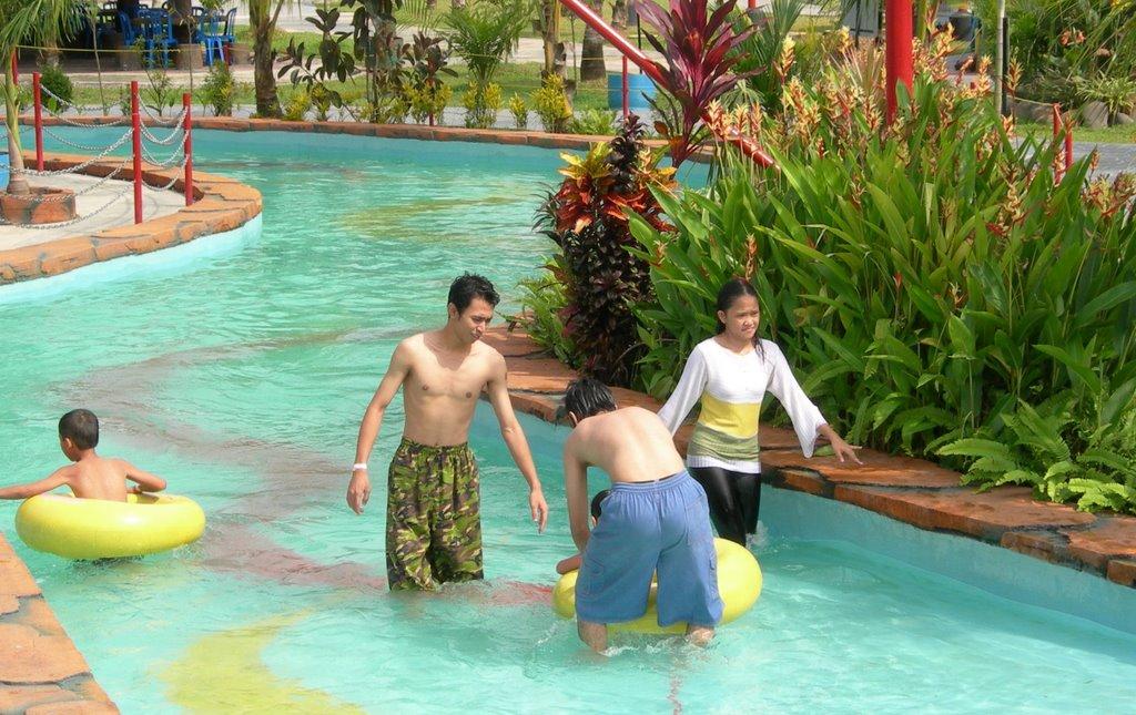Posting Liburan Asyik Fantasy Island Koko Pulau Kota Palembang