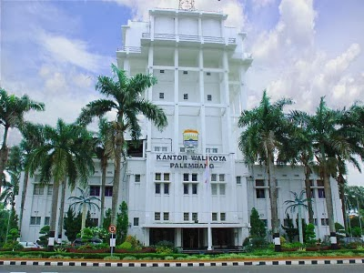 Potensi Sumatra Selatan Objek Wisata Sumsel Palembang Gedung Kantor Walikota