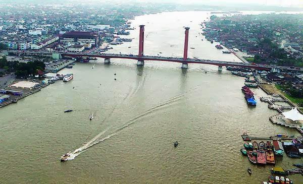 Potensi Sumatra Selatan Objek Wisata Sumsel Palembang Sungai Musi Pulau