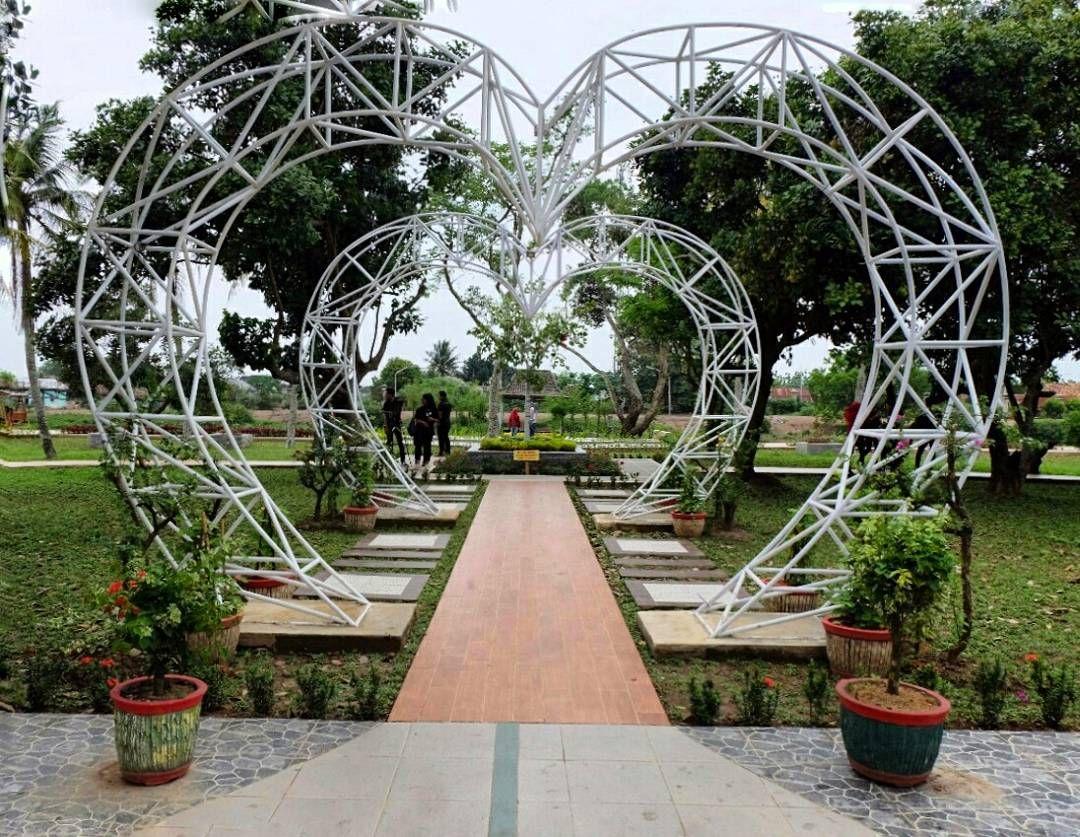 Taman Pulau Cempaka Twks Instagramable Palembang Purbakala Kerajaan Sriwijaya Sumatera