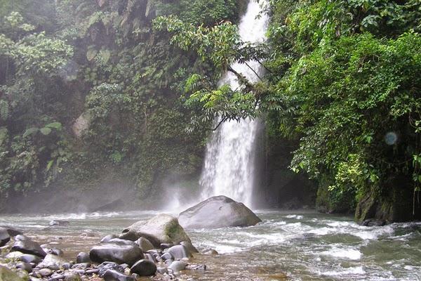 Tempat Wisata Palembang Explore Nuk Air Terjun Lematang Indah Pulau