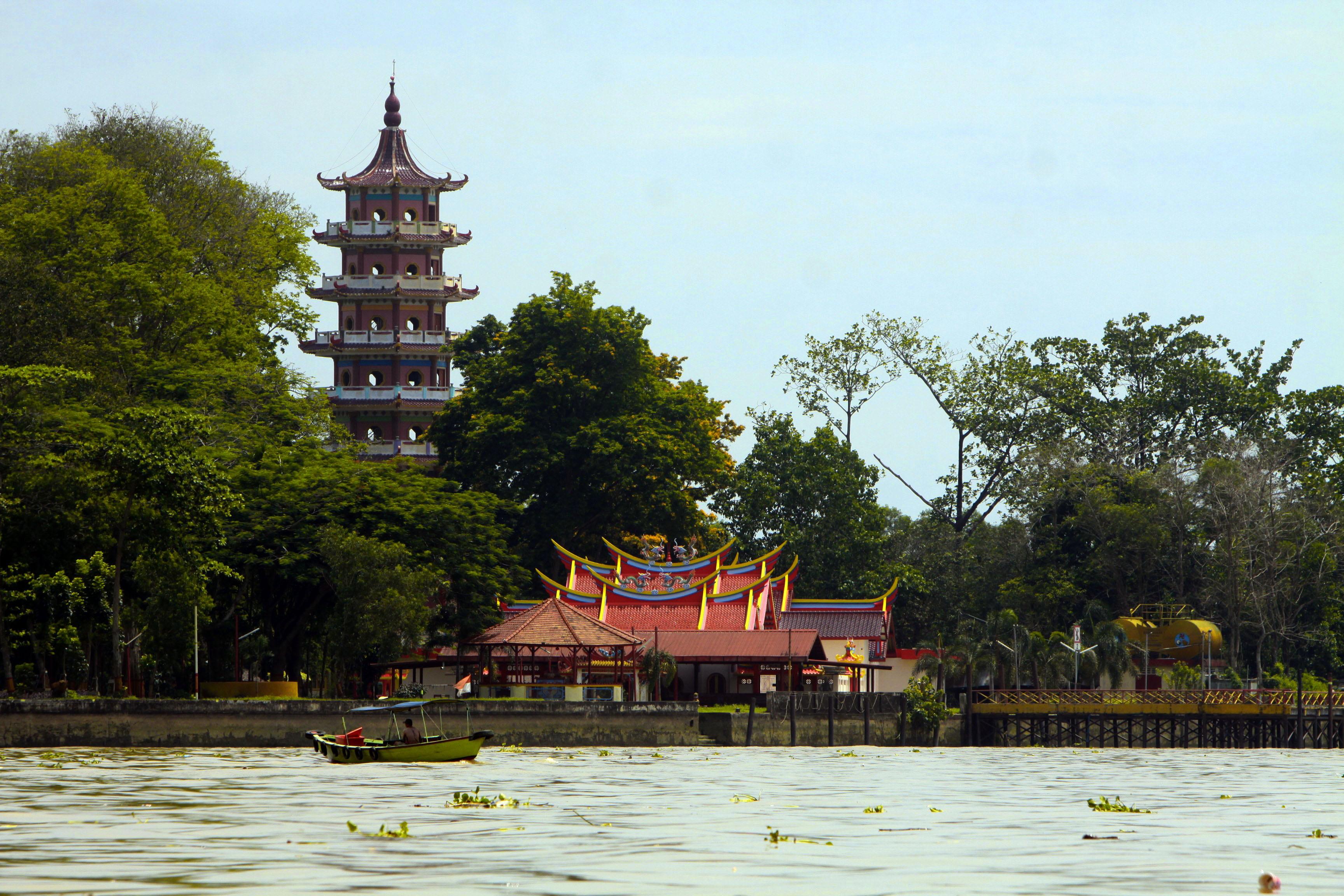 Wisata Palembang Kreasi Alfajri Pulau Kemaro Fantasy Kota