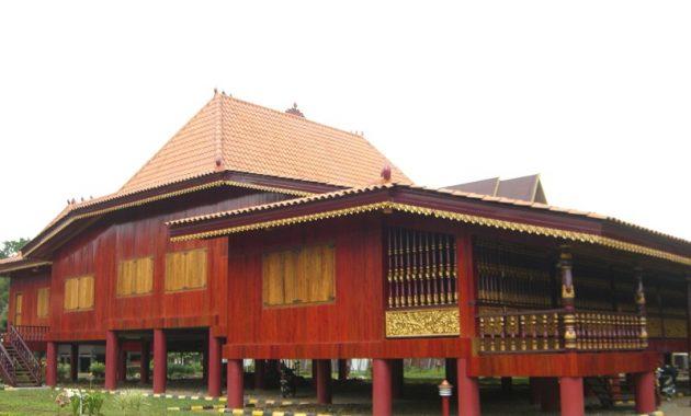 10 Gambar Rumah Limas Sumatera Selatan Sejarah Asal Usul Ciri
