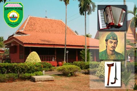 Anjungan Sumatera Selatan Taman Mini Indonesia Indah Rumah Limas Kota