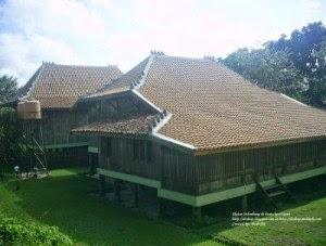 Assalamualaikumwarahmatullahwabarakatuh Arsitektur Rumah Tradisional Palembang Sumatera Selatan Limas Kota