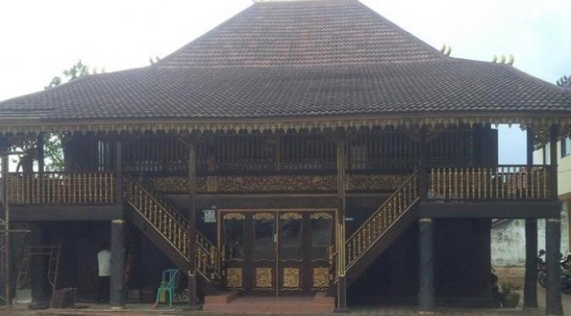 Filosofi Rumah Limas Sumatera Selatan Kota Palembang