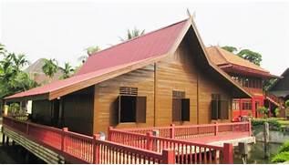Gambar Rumah Adat Pulau Sumatera 10 Desain Selatan Limas Lihat