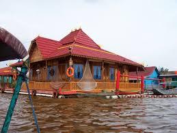 Keunikan Rumah Adat Panggung Rakit Limas Palembang Sumatera Selatan Kota