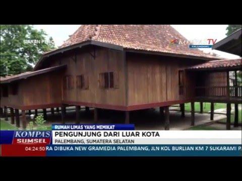 Kompas Sumsel Rumah Limas Youtube Sumatera Selatan Kota Palembang