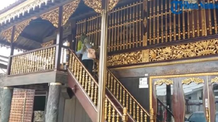 Mampir Rumah Limas Palembang Filosofi Balik Arsitekturnya Tribunnews Sumatera Selatan