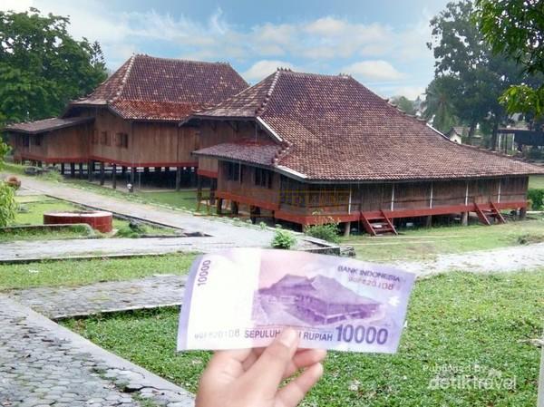 Mudik Palembang Mampir Rumah Limas Uang Rp 10 Ribu Sumatera