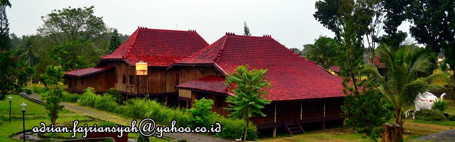 Museum Balaputradewa Palembang Pesona Gambar 25 Rumah Limas Khas Jadikan