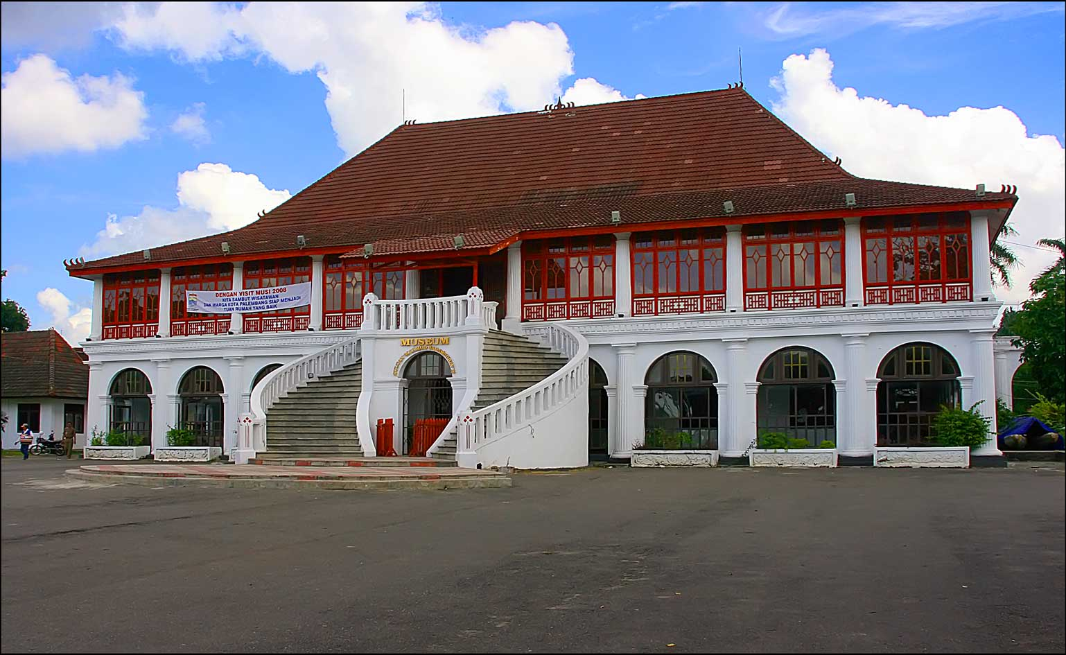 Museum Sultan Mahmud Badaruddin Ii Zone History Rumah Limas Sumatera