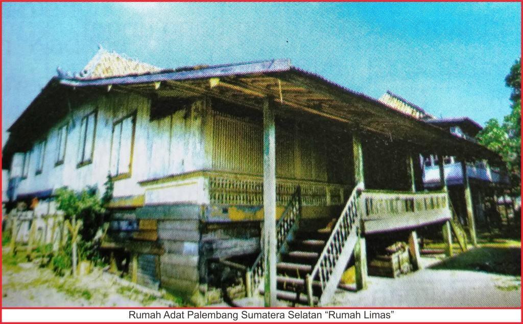 Rumah Adat Sumatera Selatan Lengkap Gambar Penjelasannya Seni Palembang Limas