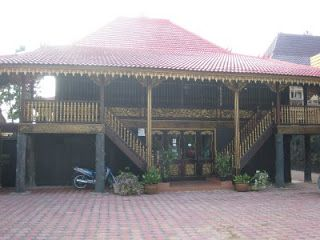 Rumah Limas Palembang Sumatera Selatan Indonesia Kota