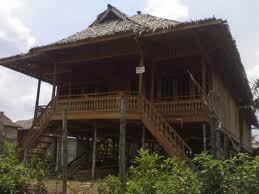 Rumah Limas Sketch Antaranya Propinsi Sumatera Selatan Beribukota Dikota Palembang