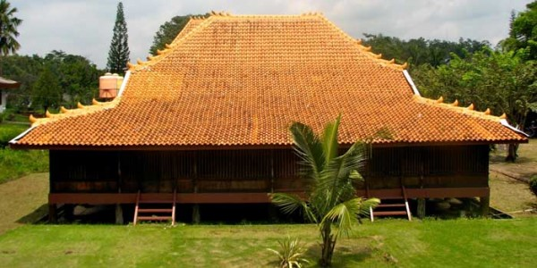 Rumah Limas Tradisional Sumatera Selatan Sumatra Kota Palembang