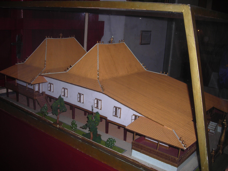September 2011 Catatan Kecil Miniatur Rumah Limas Adat Palembang Sumatera