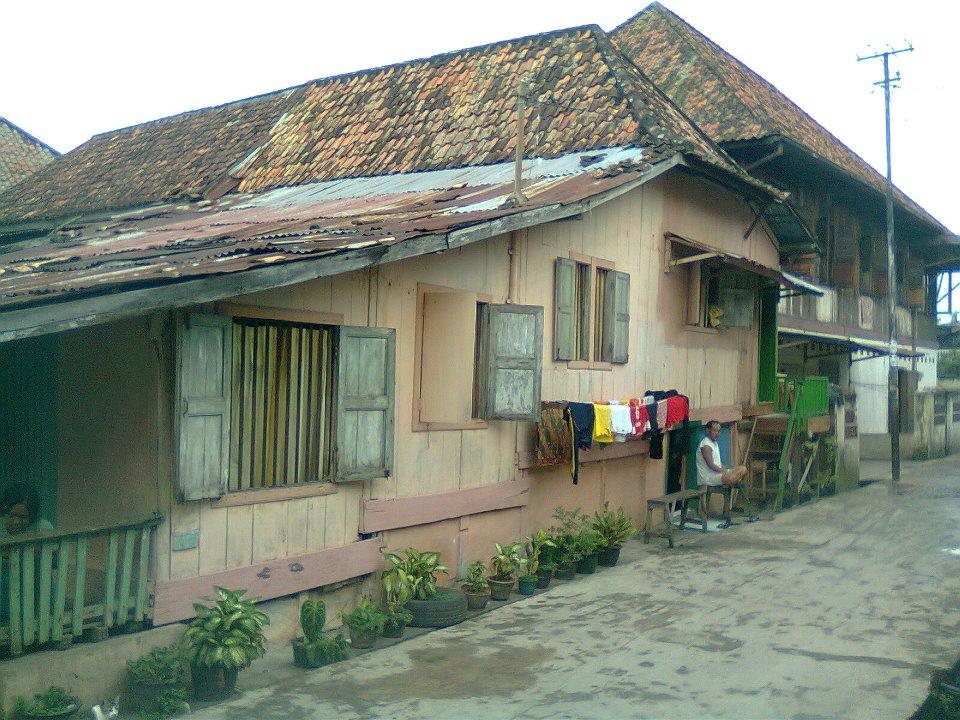 Tua Tradisionil Nusantara November 2011 Rumah Limas Palembang Sumsel Sumatera