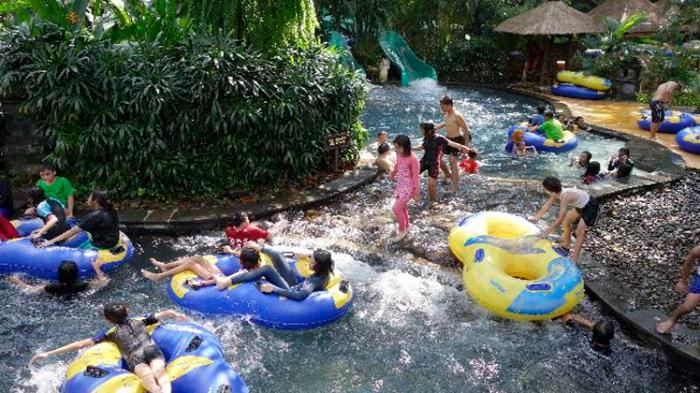 7 Wahana Kepuasan Amanzi Waterpark Palembang Tribunnews Taman Air Citra