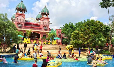 Amanzi Water Park Xplora Id Edukasi Citra Grand Taman Air