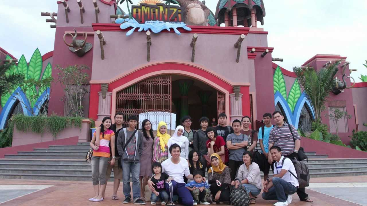 Amanzi Waterpark Biggest Palembang Zonakito Vacation Youtube Taman Air Citra