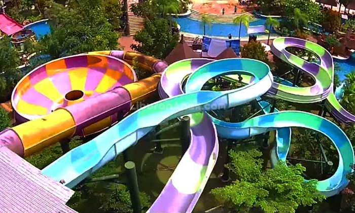 Amanzi Waterpark Palembang Kids Holiday Spots Liburan Anak Taman Air