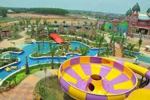 Amanzi Waterpark Palembang Utiket Taman Air Citra Grand Kota