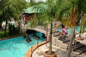 Amanzi Waterpark Palembang Utiket Taman Rimba Air Citra Grand Kota