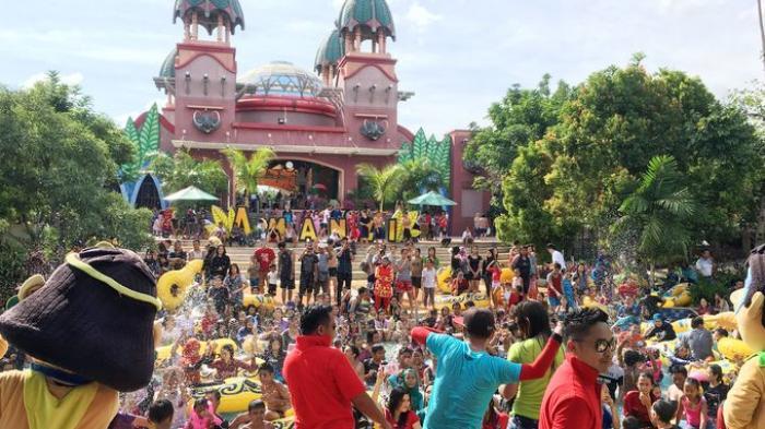Amanzi Waterpark Punti Kayu Siap Sambut Pengunjung Sriwijaya Post Taman