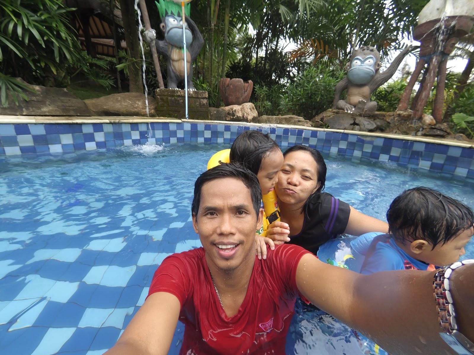 Asiknya Bermain Wahana Air Amanzi Waterpark Palembang Bersama Keluarga Taman