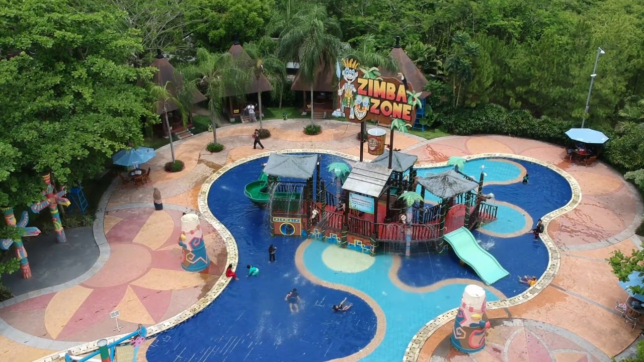 Keren Tes Dji Spark Amanzi Waterpark Palembang Youtube Taman Air