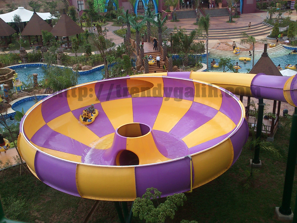 Review Amanzi Waterpark Palembang Trendy Galih Taman Air Citra Grand