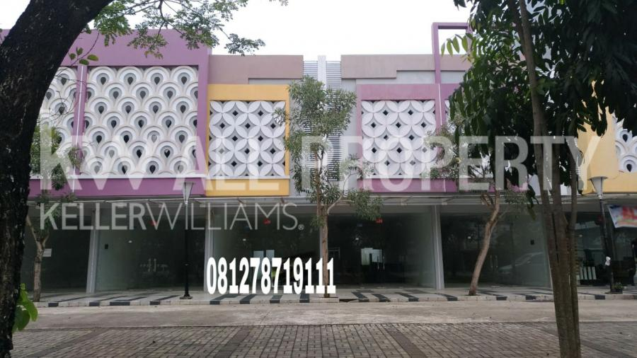 Ruko Dijual Komplek Citra Grand City Dekat Amanzi Palembang Taman