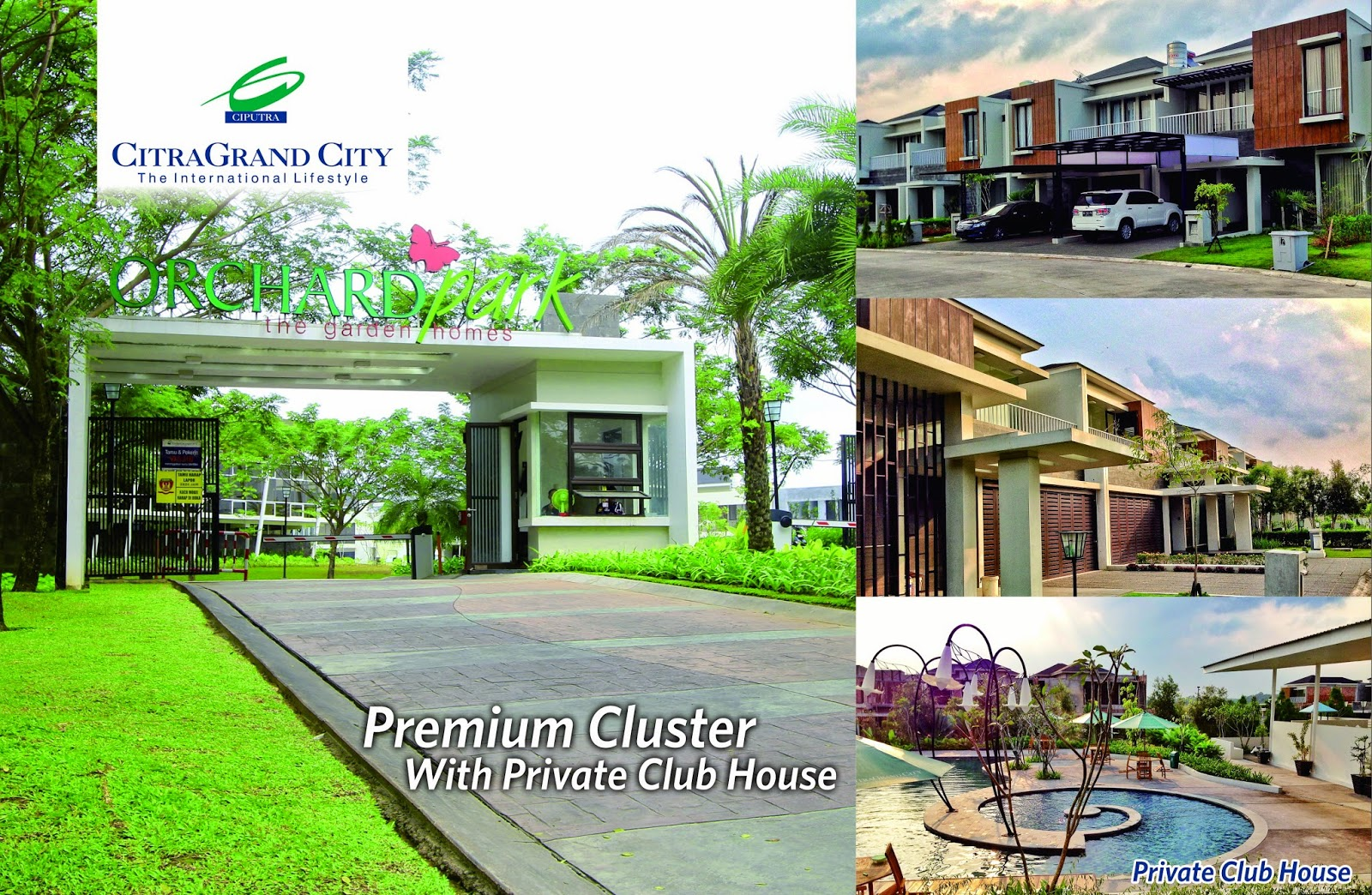 Seputar Citragrand City Palembang September 2014 Cluster Orchard Park Sebuah
