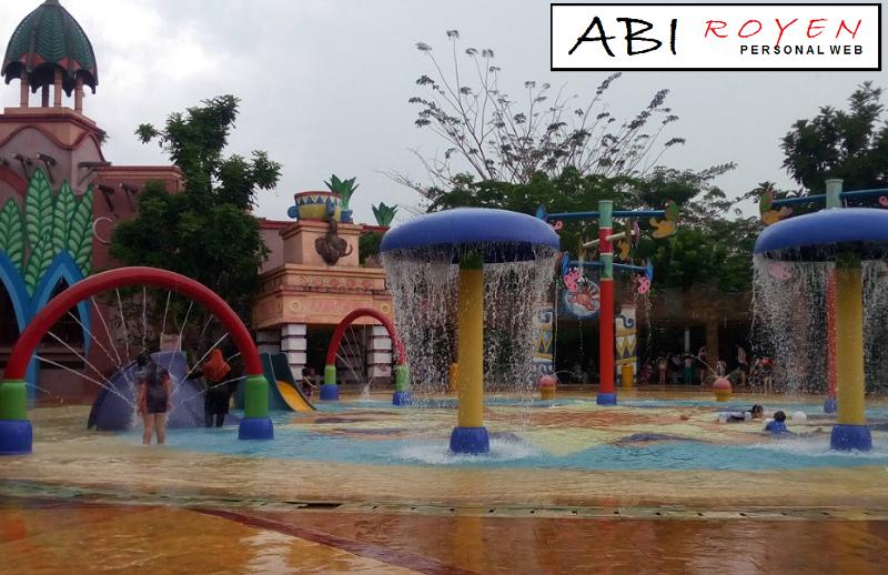 Tempat Wisata Palembang Menarik Liburan Amanzi Waterpark Citra Grand City