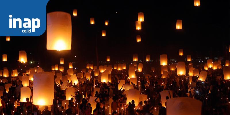 Cantiknya Lampion Taman Pelangi Sriwijaya Inap Travel Blog Palembang Kota