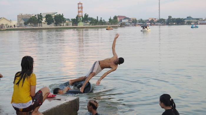 Danau Opi Jakabaring Palembang Tengah Perumahan Taman Pelangi Kota