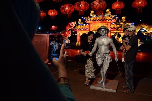 Festival Lampion Suzhou Palembang Travelon Wego Indonesia Wisatawan Domestik Mengunjungi