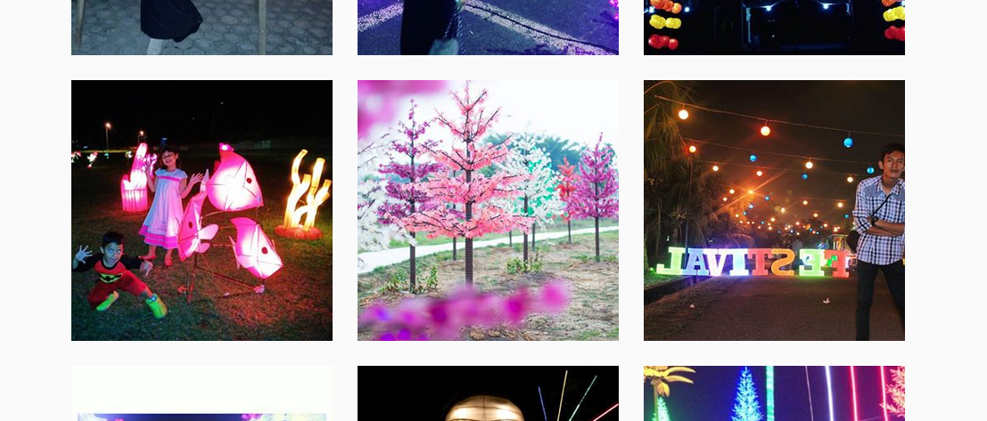 Harga Tiket Masuk Taman Pelangi Palembang Kemegahaanya Kito Sumber Instagram