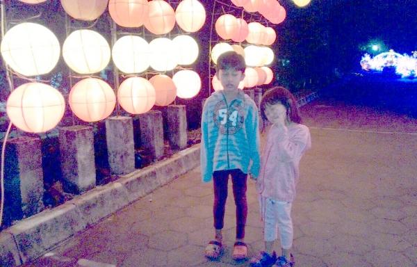 Indahnya Gemerlap Lampion Taman Pelangi Monjali Yogyakarta Dok Pribadi Palembang