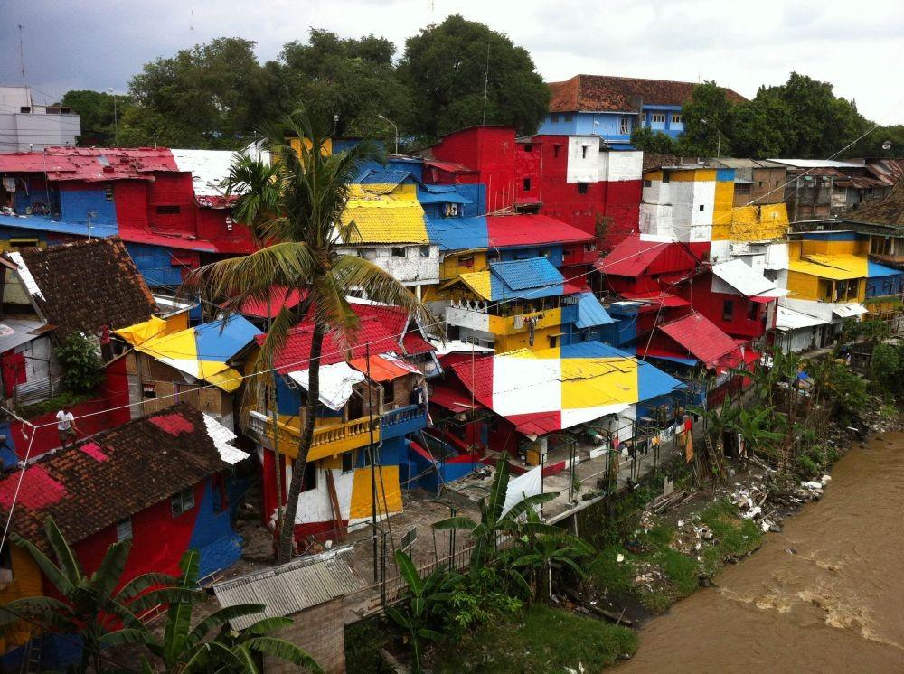 Sambut Asian Games Palembang Luncurkan Kampoeng Pelangi Taman Kota