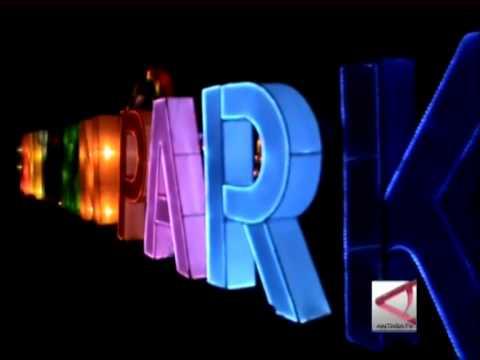 Taman Pelangi Icon Palembang Youtube Kota