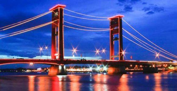 Taman Pelangi Palembang Daftar Tempat Wisata Terbaru Jembatan Ampera Pelembang