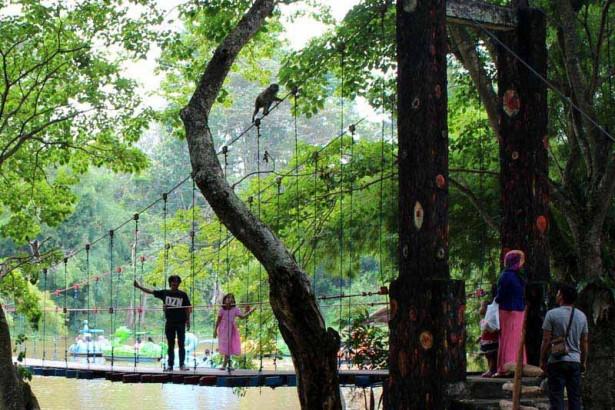 Taman Wisata Punti Kayu Palembang Tamasya Pelangi Kota